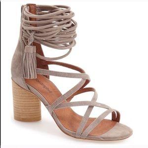 NWT Jeffrey Campbell Despina Block Heel Sandals